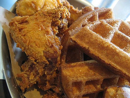 On Point Bistro: Don't Miss the Clucker, an Upscale Chicken and Waffles Dish