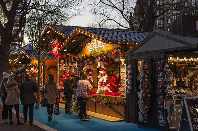 Discover Unique Gifts at the Christmas Village in Philadelphia